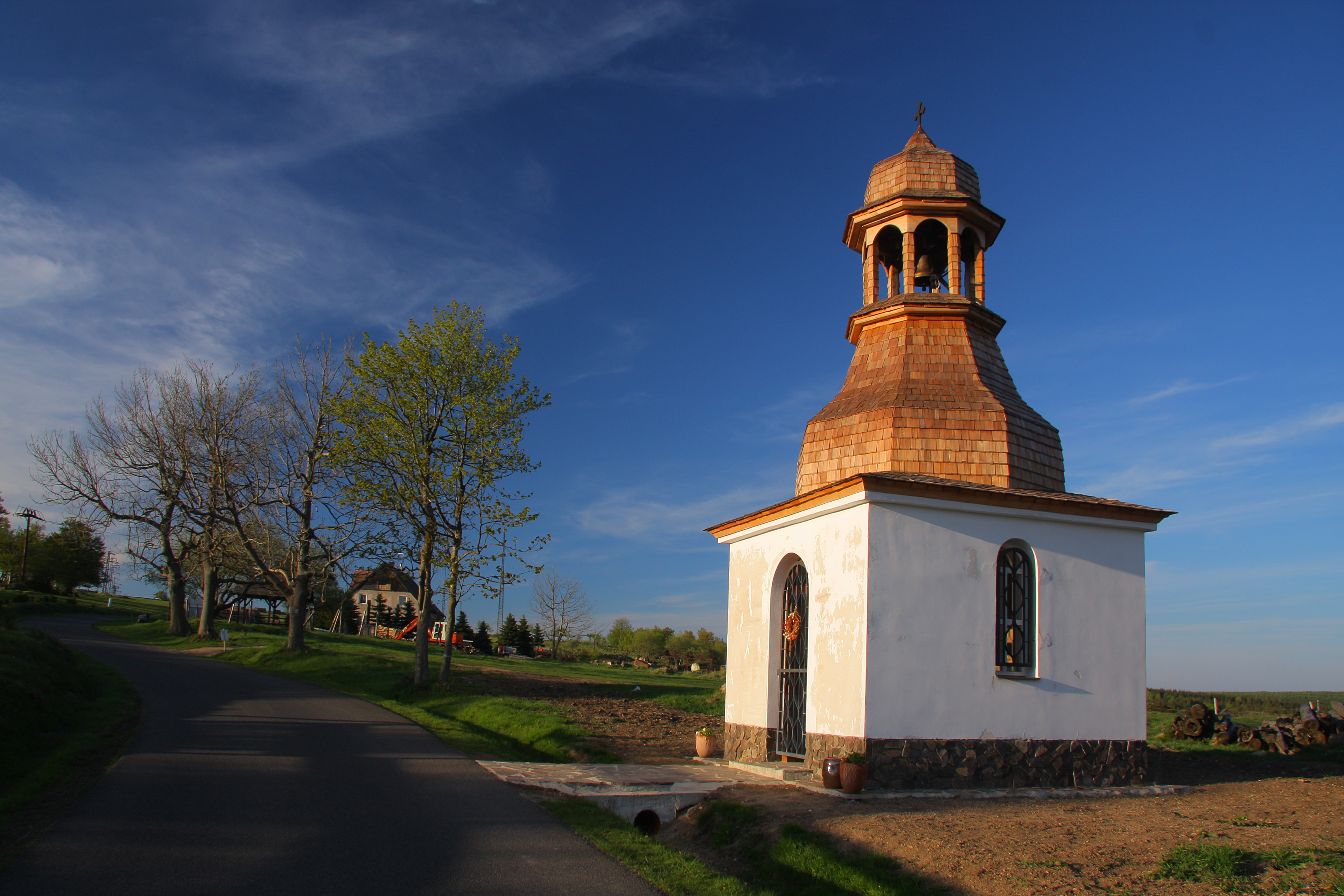 Replica of a bell tower