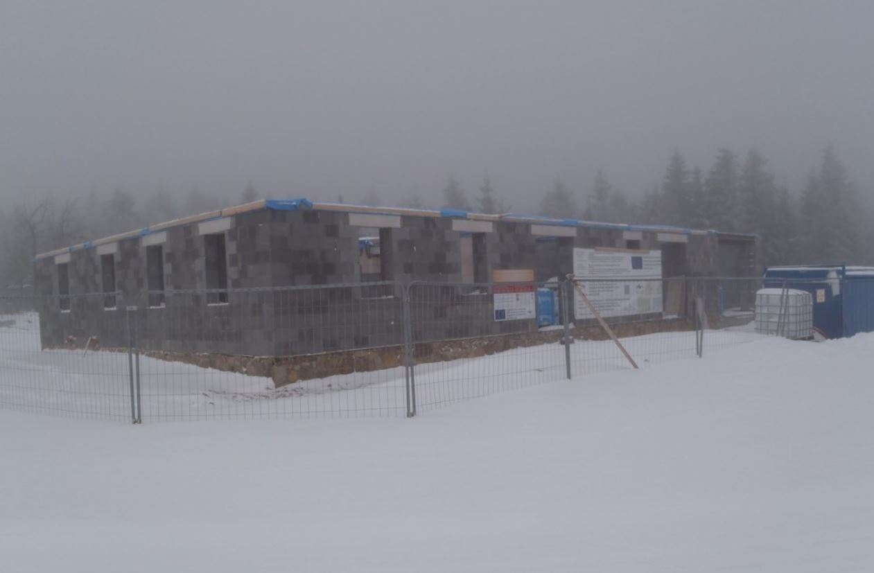 Krušnohorský hrázděný dům