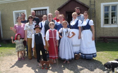 We tried the Ore Mountains costumes